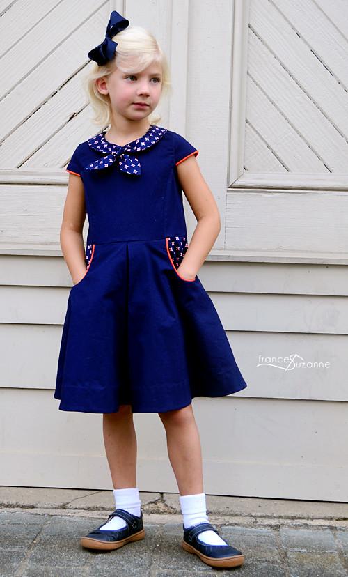 Oliver S Building Block Dress