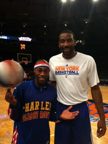 New York Knicks Amar'e Stoudemire | by harlemglobetrotters