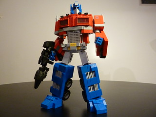 Optimus Prime Ultimate Lego Version Pic 1 | by boyzwiththemosttoyz