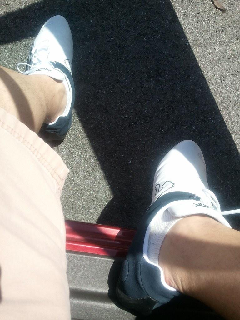 Puma White Shoes Oversized Bow Laces