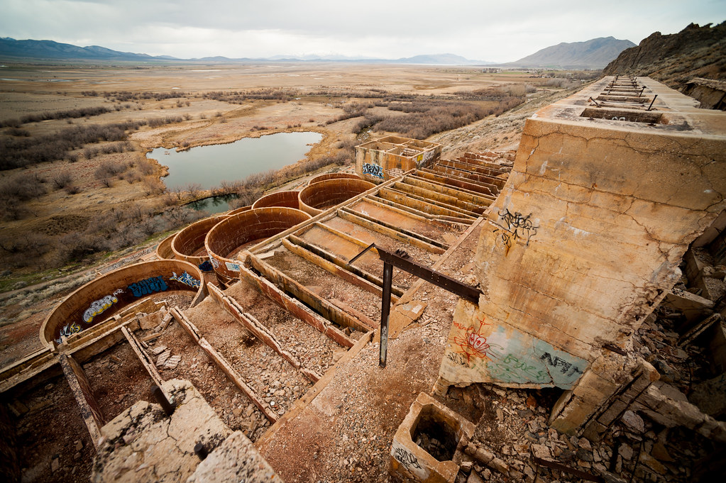 Tintic Standard Reduction Mill Goshen Utah Sam