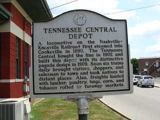 Historic Marker (Tennessee Central Depot)---Cookeville, Tn. | by bamaboy1941