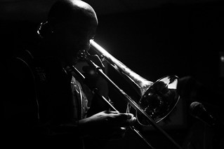 Reginald Cyntje, trombone | by Timothy Forbes Photography