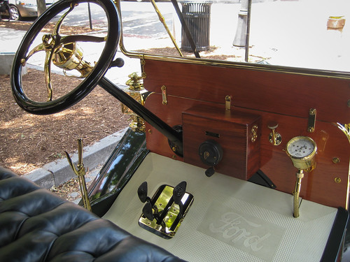 1910 Ford Model T Touring interior | by dharder9475