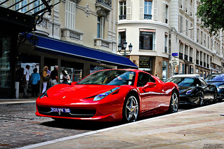 Two Ferrari 458 Spiders in Monaco | by David Coyne Photography