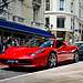 Two Ferrari 458 Spiders in Monaco