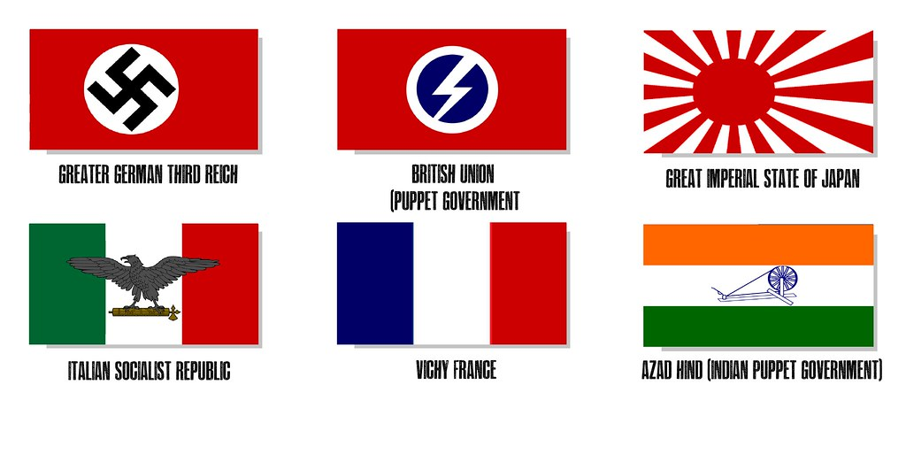 Asian axis power in world war