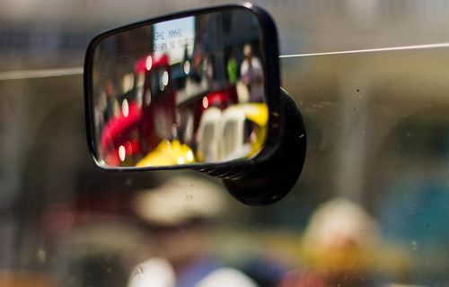 Objects in mirror may appear to be closer | by Sharon's Shotz