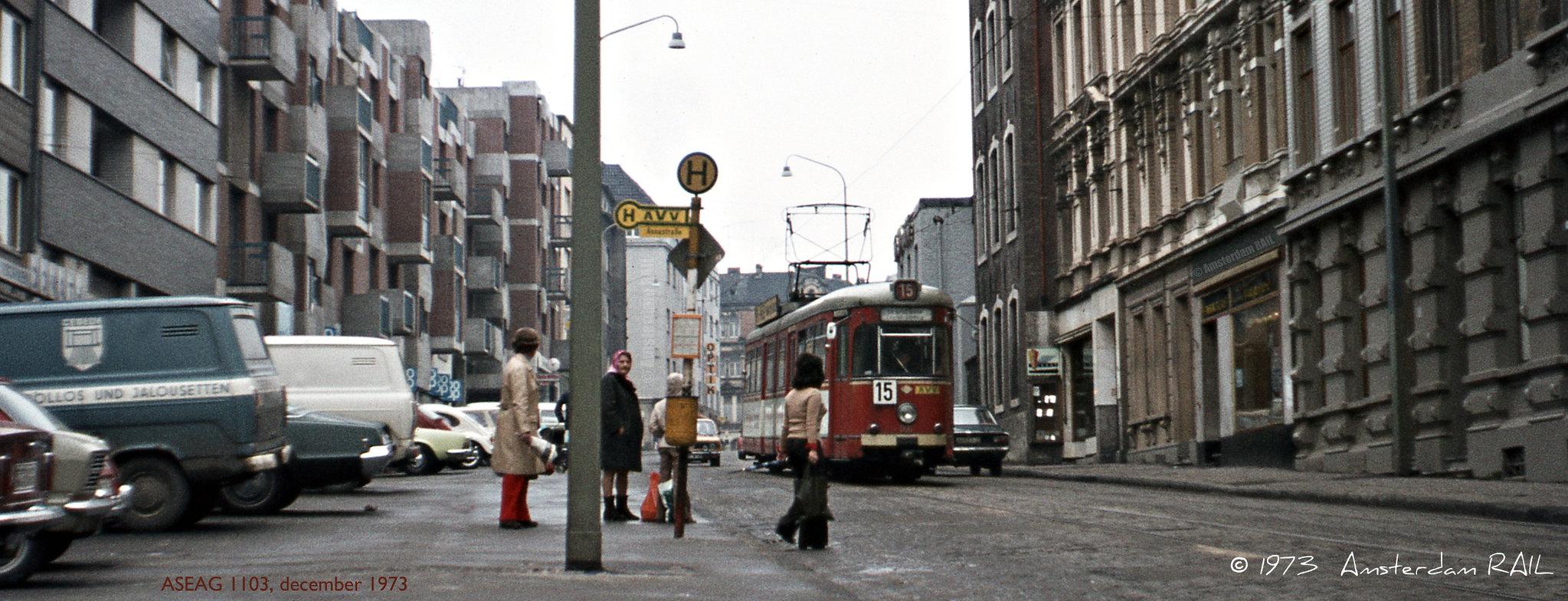 Aachener Strassenbahnpanorama (1973)