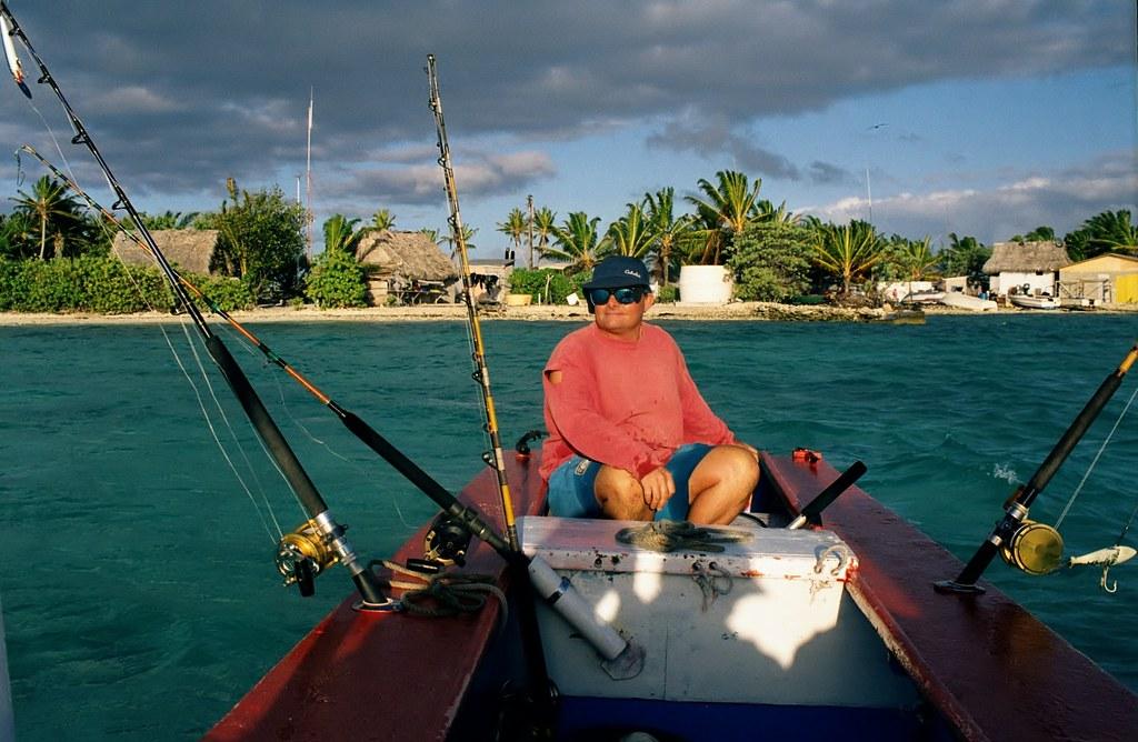 Blue-water fishing with Kim Anderson, Dive Kiribati, Chris… | Flickr