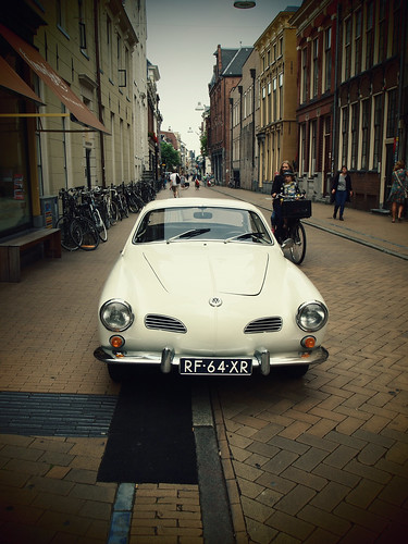 Volkswagen Karmann Ghia (with the help of PicMonkey) | by Michiel Thomas