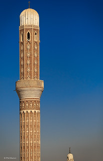 Mosque minarets - Sana'a, Yemen | by Phil Marion