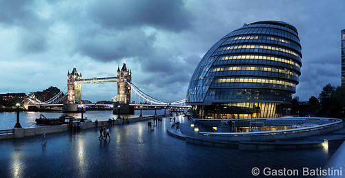 We are ready for the Olympic games! City Hall and Tower Bridge, London, United Kingdom | by Gaston Batistini Thks for 7 million views :) !