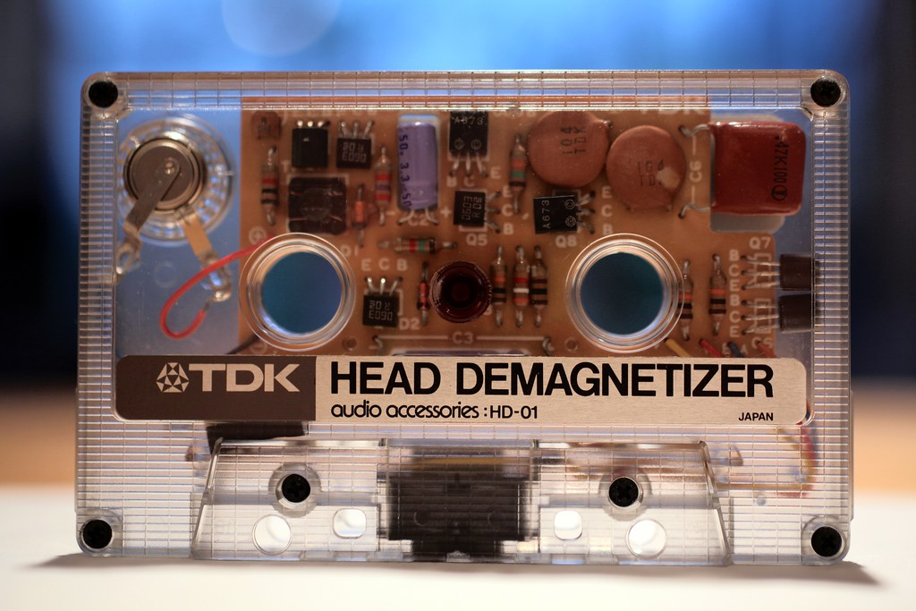 TDK Head Demagnetizer HD-01 Cassette Tape | Interestingly ...