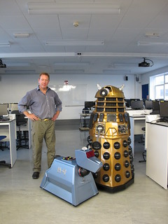 Steve with Welsh K9 and Dalek | by Rain Rabbit