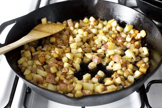 oh yes, potatoes in the bacon fat | by smitten kitchen