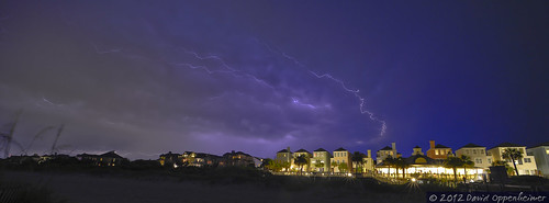Wild Dunes Resort Beach & Golf Course with Lightning | by Performance Impressions LLC