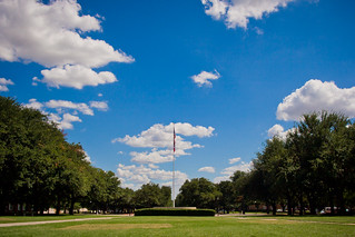 Clouds over the SMU Flagpole | by Ian Aberle