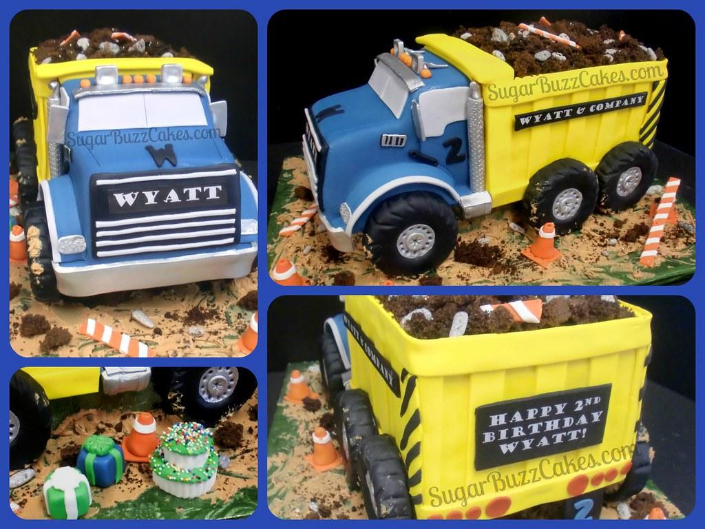 Dump Truck Birthday Cake Images