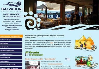 Bagni salvadori sito web dello stabilimento balneare bagniu flickr