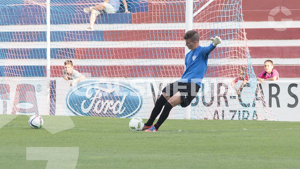 """U.D. Alzira - Villarreal CF SAD """"C"""" ( Carlos Alcalde) J1"""