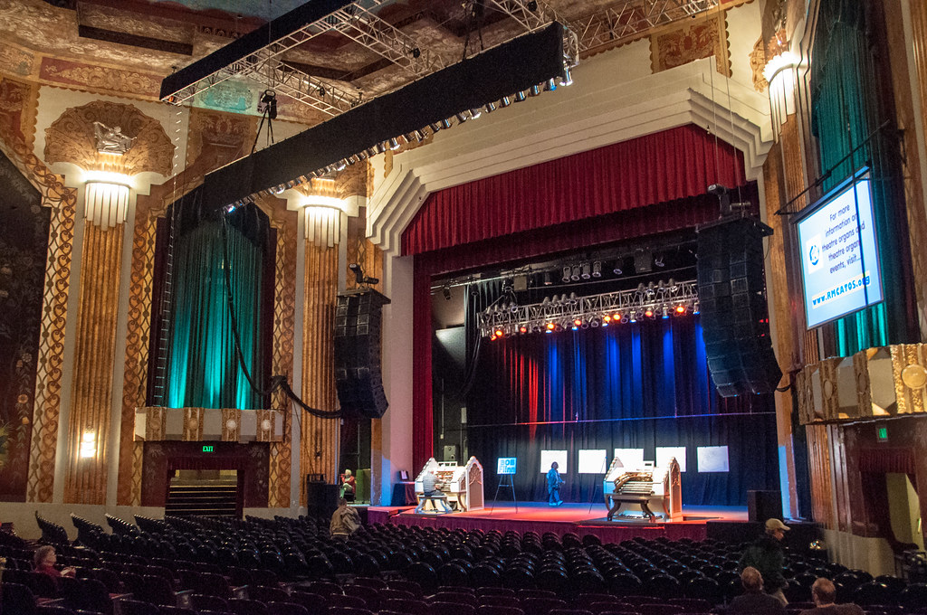 Inside The Paramount Theatre Denver April 14 2012