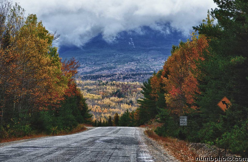 Scenes From The Golden Road Millinocket Maine Shot With
