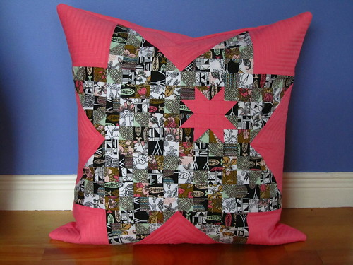Miscanelly pillow cover | by Marika Makes