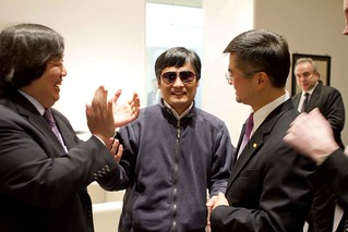 Ambassasdor Locke and Legal Adviser Koh With Chen Guangcheng | by U.S. Department of State