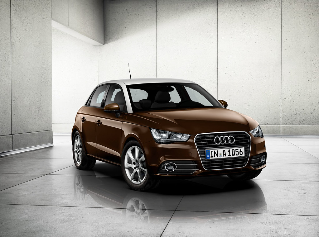 audi a1 sportback teak brown metallic paintwork teak brow flickr. Black Bedroom Furniture Sets. Home Design Ideas