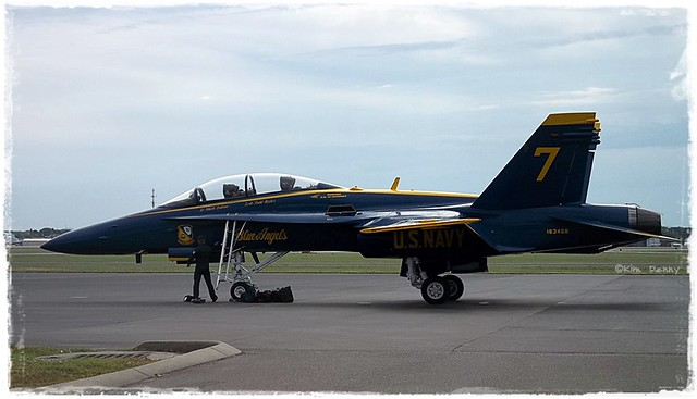 Blue Angels have arrived!