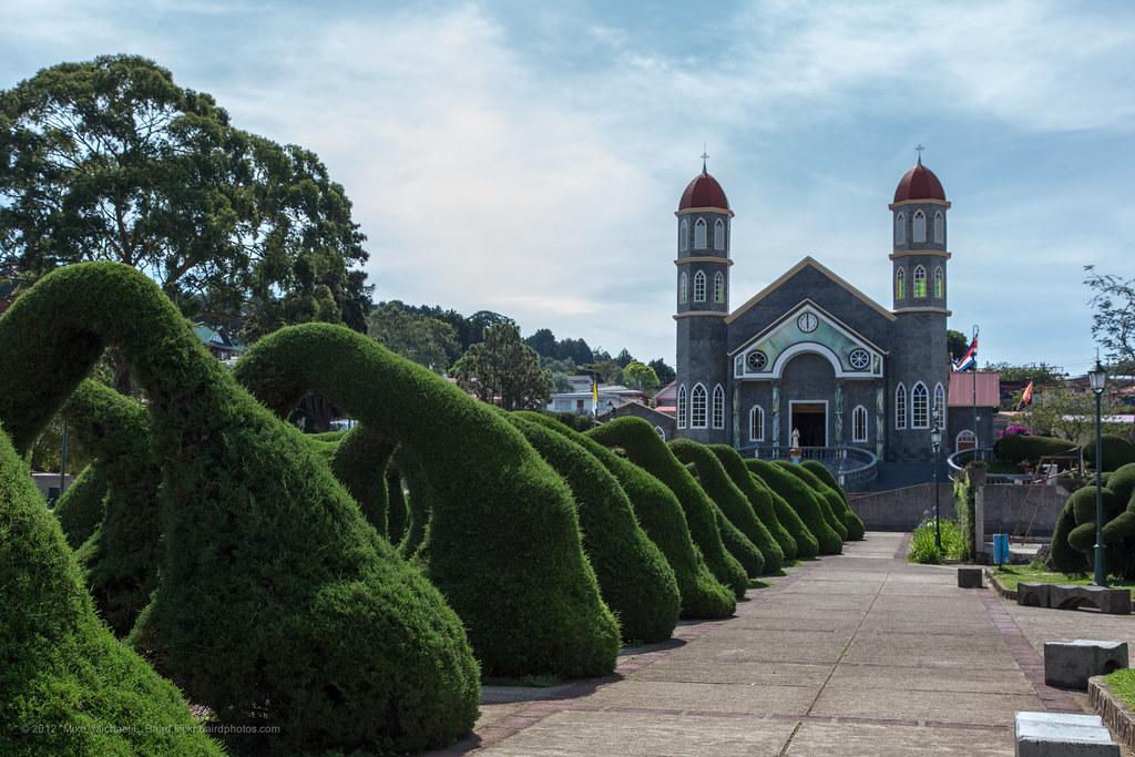 Parque Francisco Alvarado Zarcero Costa Rica Parque