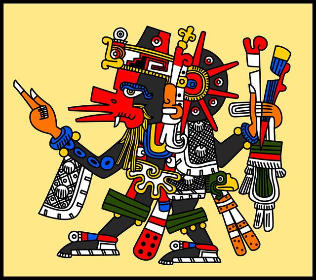 Quetzalcoatl Ehecatl Codex Borgia Flickr Photo Sharing