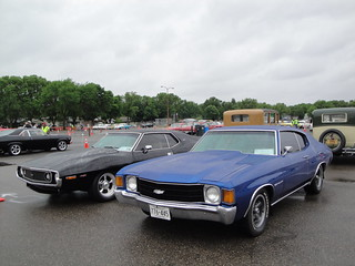 72 Chevrolet Chevelle & 73 AMC Javelin | by Crown Star Images