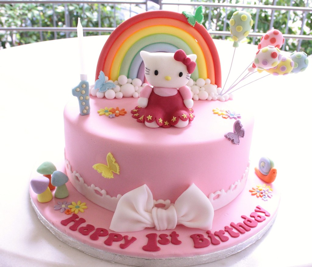 Cake Designs For First Birthday For Baby Girl