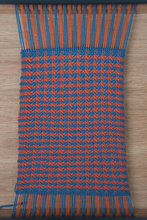 Yay! Weaving Project #16 Part 1 is ready for de-looming | by Jane Dallaway