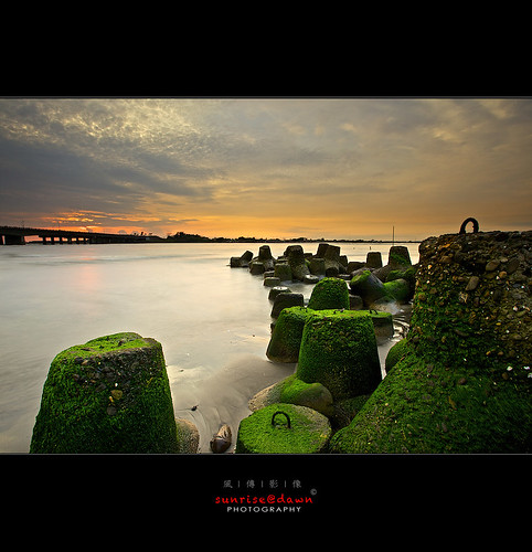 serene four weeds 寧靜の四草, 2012 | by 風傳影像 SUNRISE@DAWN photography