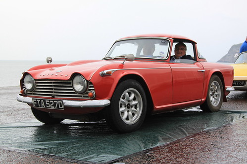 Triumph TR4A IRS - Three Castles Rally 2012 - 02 | by Rally Pix