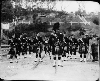 Portrait of a bagpipe band | by Australian National Maritime Museum on The Commons
