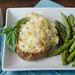 Cheesy Chicken & Basil Stuffed Potatoes
