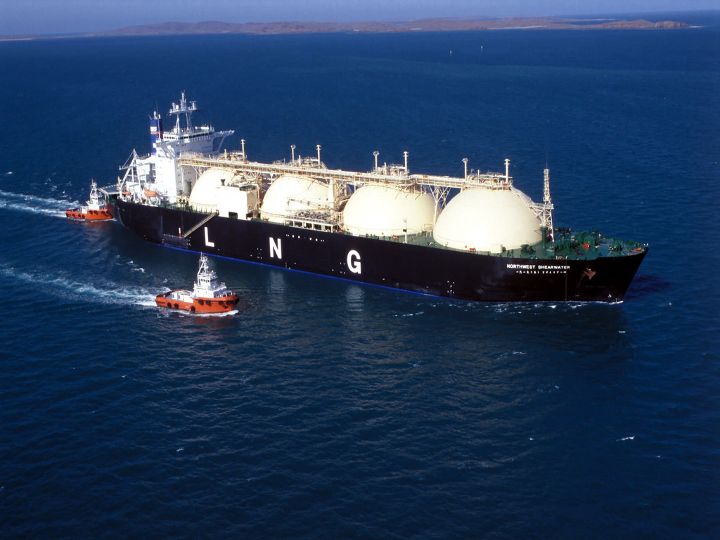 LNG Carrier 'Grand Elena' Holed After Bumping Dock in Russia