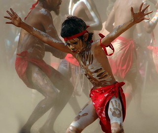 Aboriginal boy dancing | by Hannah L Glenton