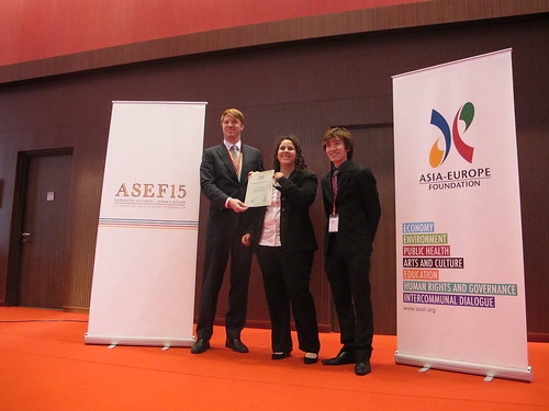 Special awards were given during the closing ceremony | by Asia-Europe Foundation