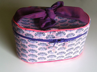 Train-Style Vanity Case from A Bag for All Reasons | by dixiediy