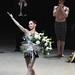 Tamara Rojo's curtain call and flower throw. © The Ballet Bag/ROH 2012