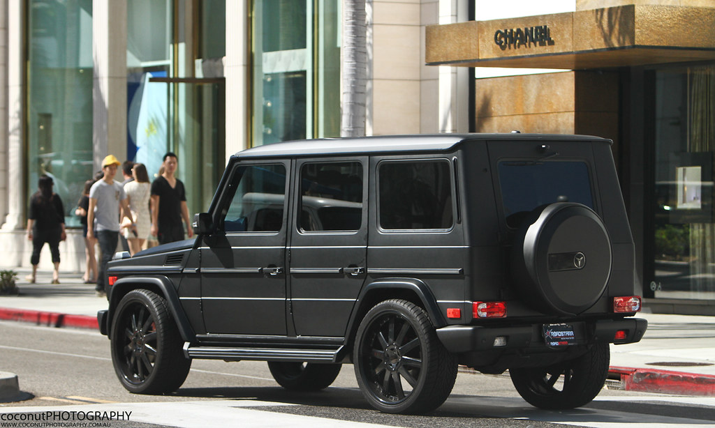 Mercedes Benz G550 Such An Amazing Truck Matte Black