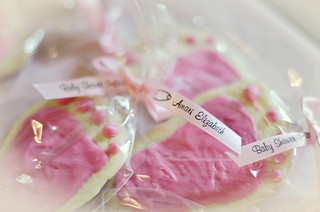 Baby Shower Footprint Cookie Favors | by Javcon117*