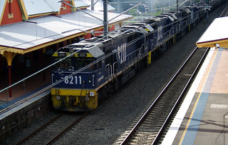 8211-8202-8236-8207=Pacific National coal train | by Ebroh