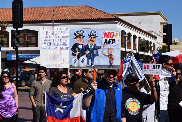 Marcha NO a las AFPs