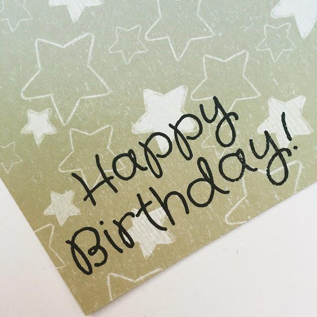 StickerKitten Birthday Dinos stamp set – happy birthday sentiment